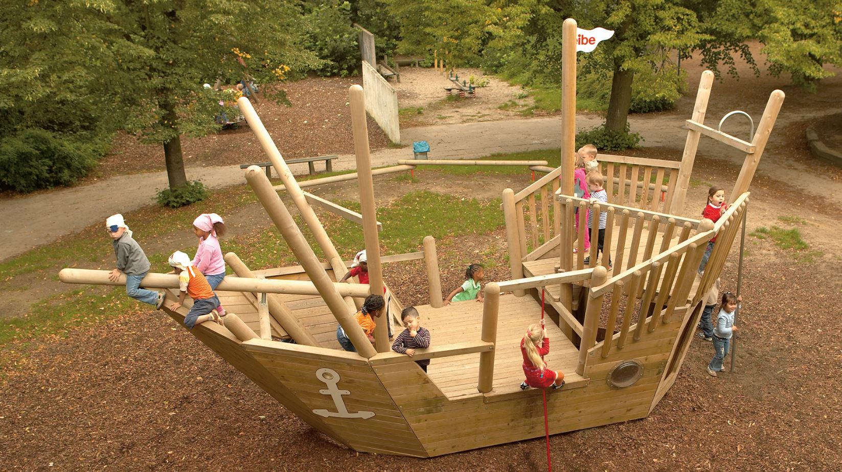 Parques infantiles Robinea-Eibe