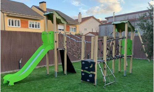 Parque infantil en casa. Verdeliss.